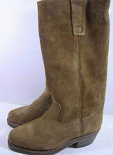 BOTTES GO WEST CUIR TAILLE 36 ANCIENNE VERS 1970/80