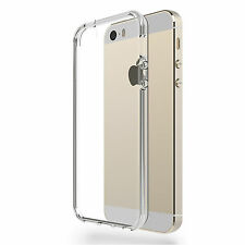 FUNDA CARCASA TRANSPARENTE ULTRAFINA TPU GEL PARA IPHONE 5 / 5S / 5C / SE