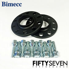 Bimecc 15mm Black Hubcentric Wheel Spacers & Wheel Bolts BMW X4 F26 14-