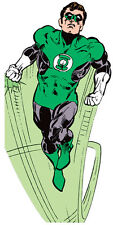 Green Lantern Blank Note Greeting Card With Quotes That Stick, With Stickers NEW