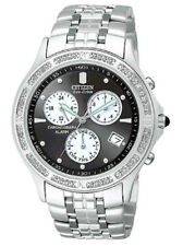 NEW Citizen Men's BL7160-53E  Diamond Chrono Alarm Date Eco Drive Watch  SALE!