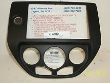 2007 FORD FOCUS RADIO TEMPERATURE CONTROL TRIM DASH BEZEL