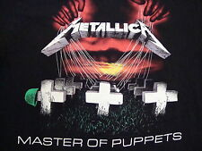 Metallica Master of Puppets Album Classic Rock Heavy Metal Concert T Shirt M