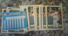 1990 BOWMAN TIFANY GLOSSY 20CT ALL WADE BOGGS RED SOX YANKEES