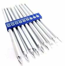 9pc Extra Long Screwdriver Bits 150mm Power Set Slotted Phillips Pozi Cr-V SD235