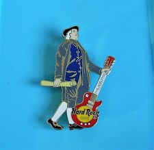 Hard rock cafe pin badge Benjamin Franklin with red guitar Philadelphia
