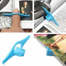 Thumb Book Page Holder Marker Finger Ring Plastic Reading Helper Book Mark New