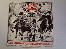 "MUZIKA BEZ KAPELNIKA  ""hoste u burinek"" 7"" EP 1972 Gatefold Cezch PANTON 03 0279"