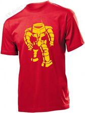 BIG BANG THEORY MANBOT T shirt Bazinga Sheldon Cooper FUNNY robot T-shirt