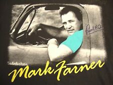 Vintage Mark Farner Band Funk Christian Music Autographed Signed T Shirt M