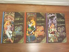3 @ GIRL GENIUS Book 2, 4, 7 Circus of Dreams, Airship City, Voice of the Castle