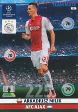 033 ARKADIUSZ MILIK AFC.AJAX POLAND CARD CHAMPIONS LEAGUE ADRENALYN 2015 PANINI