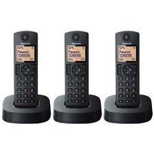 Panasonic KXTGC313EB Triple Digital Cordless Phone with Nuisance Calls Block