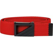adidas Men's Webbing Golf Belt Bold Red