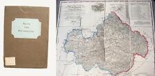 Geographische Karte von Niederbayern - 1841