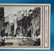1860s Italy Stereoview Casa di Tasso Sorrento No.212 Sommer & Behles