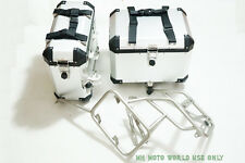 Motorcycle Aluminium  Panniers SaddleBags for URAL 750 whit mount