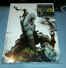 ASSASSINS CREED III 3 COLLECTORS EDITION STRATEGY GUIDE BOOK FACTORY SEALED NEW