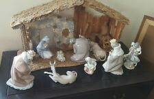 ● LLADRO Nativity Set - EVERY PIECE Shown In Pictures - NO CHIPS OR CRACKS