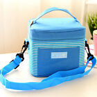Portable Insulated Thermal Lunch Box Carry Tote Storage Bag Travel Picnic  Case