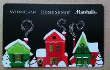 NEW Winners home sense Marshalls GIFT CARD RECHARGEABLE BILINGUAL X-MAS