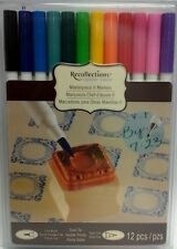 PRIMARILY Recollections Signature Masterpiece II Markers Set of 12 Double Ended
