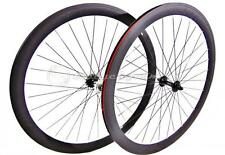 cerchi ruote bici fixed bike wheels 28 700c coppia single speed nero 45mm