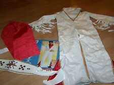 Size Small 4-6 50's Favorites Elvis Presley Rock Star Halloween Costume White