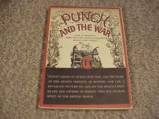 Punch and the War (1941 Paperback, First Edition) / Free Shipping!