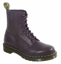 Ladies' Lace Up Dr Martens Core Pascal 8 Eye Boot Purple Virginia UK Size 5