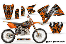 KTM 2001-2002 EXC 200/250/300/350/400/520 and MXC 200/300 GRAPHICS KIT BTO