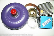 200-4R Master Rebuild Kit Torque Converter Transgo shift kit 2004R Transmission