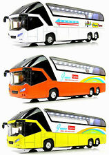 NEW Luxury Big Bus 1:32 Car Sound Light Model Ornament & Toys & Gift X1PC