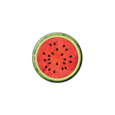 Watermelon Fruit - Metal Lapel Hat Pin Tie Tack Pinback