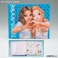 Depesche TOPModel MY BEST FRIENDS BOOK Friendship Activity SCRAPBOOK Blue