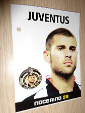 JUVENTUS FC SPILLE PINS 2007/2008 ANTONIO NOCERINO SPILLA OFFICIAL PRODUCT