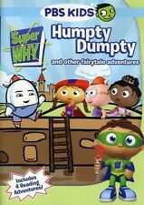 Super Why!: Humpty Dumpty and Other Fairytale Adventures (2011, DVD NEW) WS