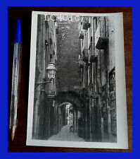 FOTOGRAFIA PHOTO VINTAGE B/N BLACK AND WHITE 1978 NAPOLI ANTICA