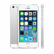 Apple iPhone 5S White/Silver 32GB Factory Unlocked Mobile Phone Smartphone