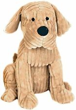 DOG DOOR STOP, Ribbed Fabric Puppy Dog Door Stop, Xmas Present / Gift, BNWT.