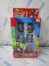 Masked Rider Ryuki Knight Zolda Dragredder Finger Puppets Figure Set YUTAKA