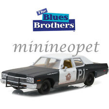 GREENLIGHT 84011 THE BLUES BROTHERS 1974 DODGE MONACO BLUESMOBILE 1/24 POLICE