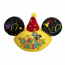 Disney Mickey Mouse It's My Birthday Ear Hat Personalized w/ YOUR NAME One Size