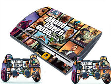 New for PlayStation 3 PS3 Fat 2 Controller Skins Awsome Custom Stickers