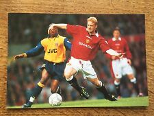 Football Photo Paul Scholes Man Utd 1990s Football Soccer Memorabilia