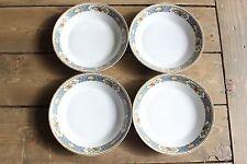 4 Vintage T&V Ligomes France China La Cloche Bowls 7.5 inches