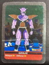 DRAGONBALL Z Lamincards n° 137 GINUE carte occasion Dragon Ball