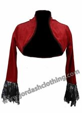 FANTASTIC JORDASH DARK STAR GOTHIC VICTORIAN JACKET/BOLERO VELOUR ONE SIZE BNIP