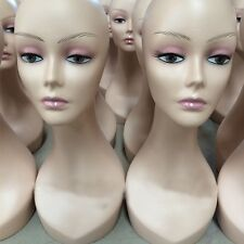 Cosmetology Manikin Head Mannequin Hat Wig Jewelry Necklace Display Model Stand