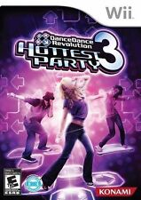 Dance Dance Revolution: Hottest Party 3 (Nintendo Wii, 2009) READ DETAILS SHIPS